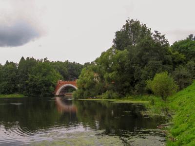 *Мост усадьба Марфино Мытищинский район