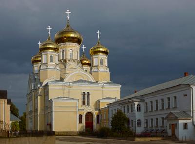 Собор Андронниковой иконы Божьей Матери монастырь храм вера