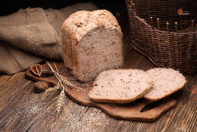Домашний, бездрожжевой хлеб Бездрожжевой домашний хлеб на закваске