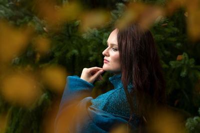 Anna девушка портрет брюнетка красавица
