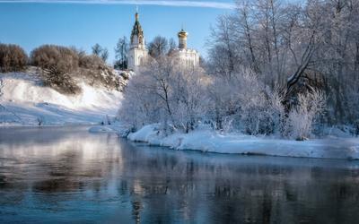 Морозное утро в Бужарово