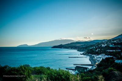 просто море) крым, море, скалы