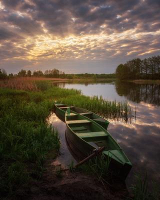 Весенний рассвет на реке Воронеж. весна рассвет рамонь река