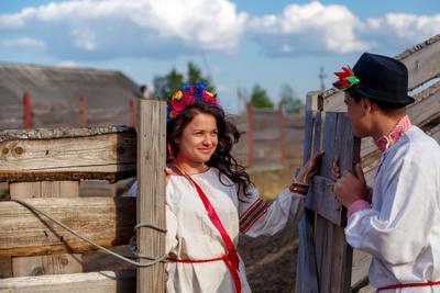 из серии Love story в деревне