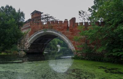 Мост через р. Учу 2 усадьба Марфино Мытищинский район