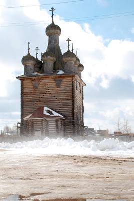 Старый Храм в Заостровье Заостровье