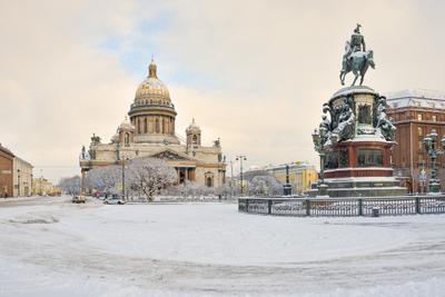 Зимняя площадь исаакиевска площадь санкт петербург алексеев александр зима