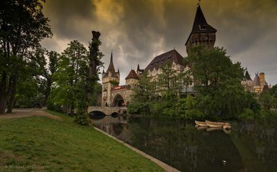 Замок Вайдахуняд(Будапешт)