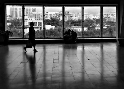 in the gallery people window monochrome gallery shadowplay