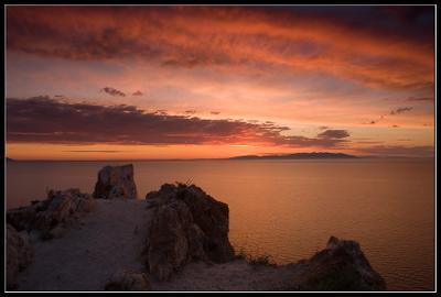 начало нового дня . . . Lenchik & Fanizzz, озеро байкал, остров ольхон, мыс шунте левый