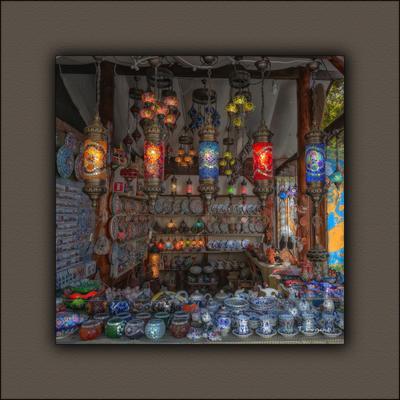 Восточная лавка лавка посуда фонарики Евпатория