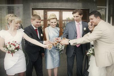 Одна свадьба для троих друзей свадьба