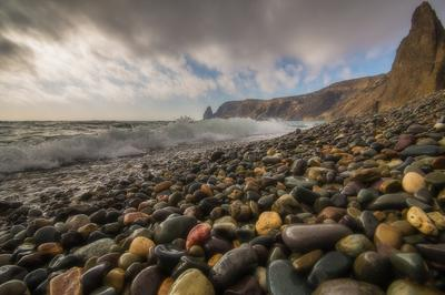 Фиолент Крым пейзаж море