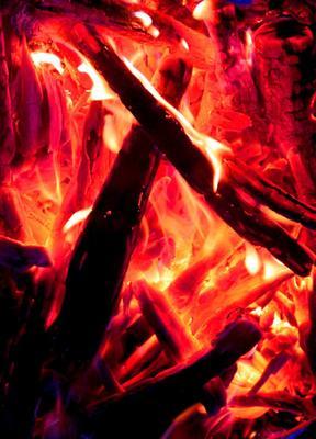 Рождественское пламя