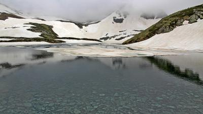 Июнь выдался холодным.. fotopohod.ru фототур Кавказ Уруп Загедан