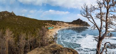 Бухта Песчаная Байкал бухта Песчаная март 2019 г лед Байкала