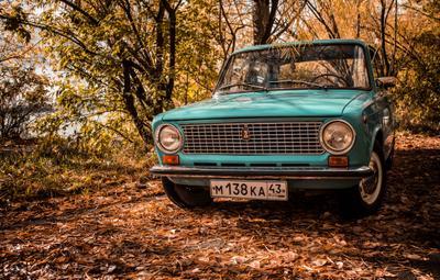 OldRastyGarage авто осень старина