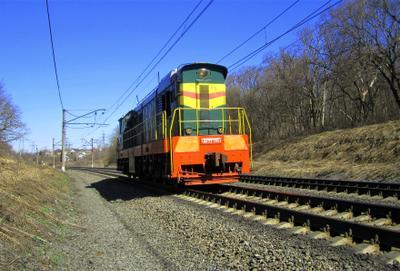 ЧМЭ3 - 3951 ЧМЭ3 тепловоз весна железная дорога