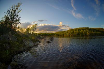 Северное озеро Озеро
