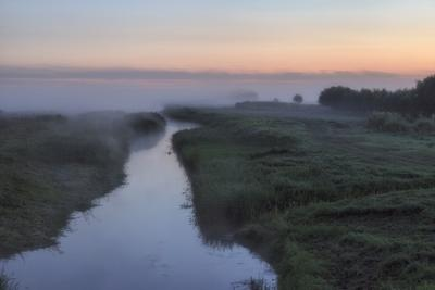 Светает... утро туман