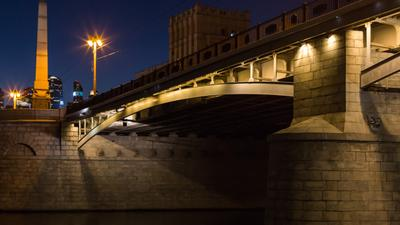 Мост Москва город мост