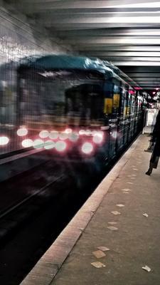 МетроLine метро движение природа город Москва метрополитен подземка станция поезд плитка