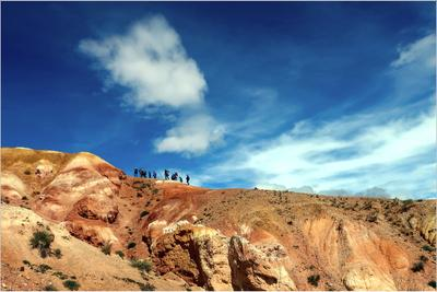 *Путешествие по Марсу* фотография путешествия Алтай Азия природа пейзаж лето Марс-1 Фото.Сайт Светлана Мамакина Lihgra Adventure