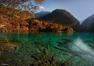 Jiuzhaigou #15 Jiuzhaigou Цзючжайгоу долина_9_деревень Jiuzhai_valley China Китай vakomin