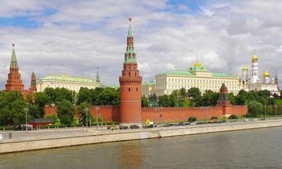 *** Москва Кремль Кремлёвская набережная