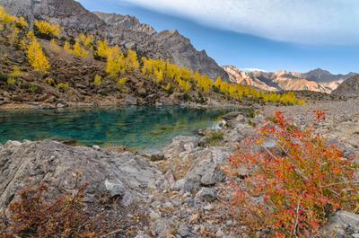 Октябрь в Фанских горах