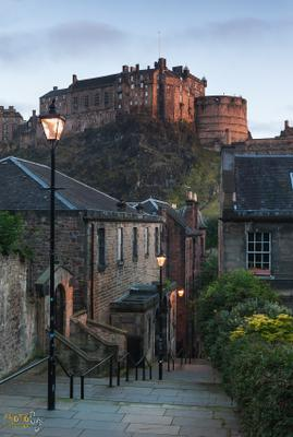 The vennel фототур шотландия рассвет эдинбург