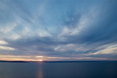 Августовский вечер Владивосток Август вечер облака