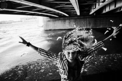 *** санкт-пететрубрг мост девушка прыжок emotions motion