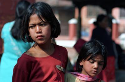 Дети. Непал. портрет, дети, Непал, путешествия