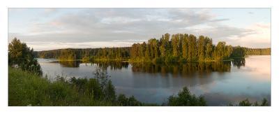 `Озеро Михайловское` озеро вечер