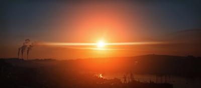 *** владивосток море восход солнце