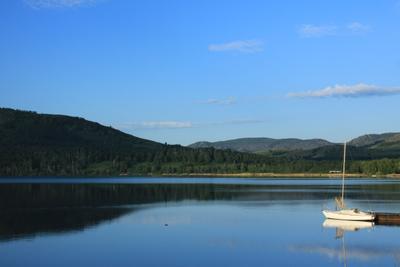 Утро на озере утро озеро