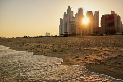Dubai Marina. Sunrise/Восход. Dubai Marina Дубаи Марина