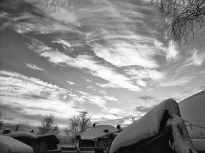 зимние небеса небо зима