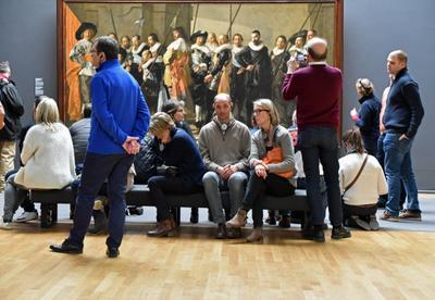 Искусства стержень - связь меж временами RIJKS MUSEUM Амстердам времена голландская живопись