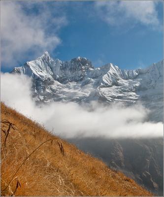 В степях Гималаев Непал, Аннапурна