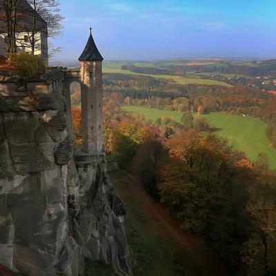 Осень над Эльбой Саксония