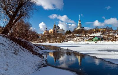 Торжок Борисоглебский монастырь Торжок Борисоглебский монастырь