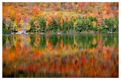 Наша Осень-4 озеро, горы, осень