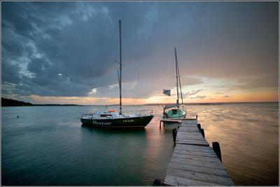 северный ветер лето яхта Боровские острова Обское море Стыврин Андрей