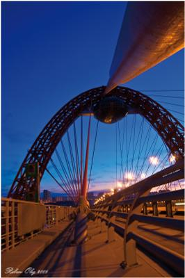 Линии №17 Москва живописный мост Крылатское