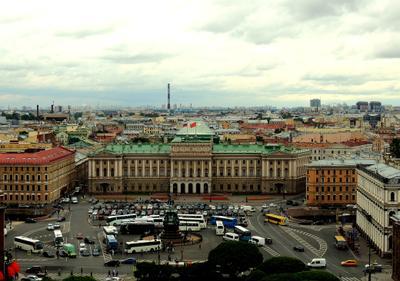 Мариинский дворец и Николай I