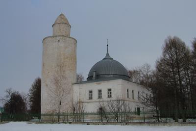 Ханская мечеть и минарет XV века. Касимов. Ханская мечеть и минарет XV века Касимов
