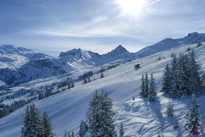 Снежное пространство 4 france, savoe, courchevel, altiport