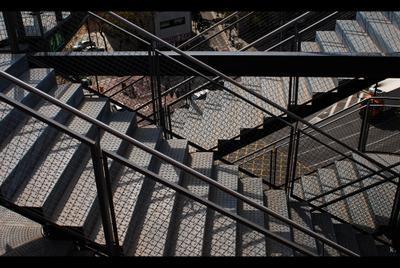 Geometry nikon D80 geometry barcelona spain stairs барселона испания